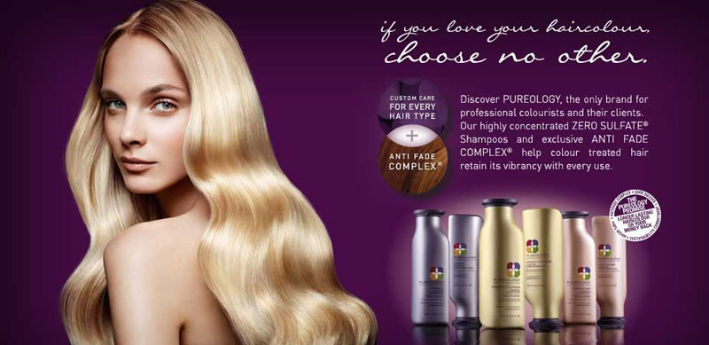 Pureology salon products